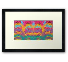 Color Blocks Framed Print