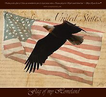 """""""Flag of my Homeland"""" by Skye Ryan-Evans"""