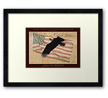 """""""Flag of my Homeland"""" Framed Print"""