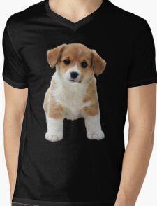A Little Puppy Mens V-Neck T-Shirt