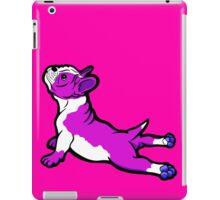 Boston Bull Terrier Puppy Shocking Pink iPad Case/Skin