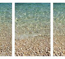 Ocean Triptych by Alyson Fennell