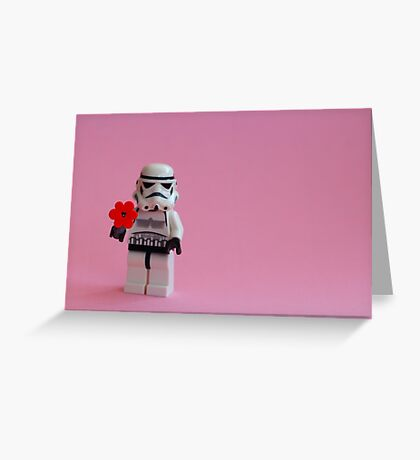 Trooper's Flower Greeting Card
