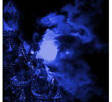 Blue Castle Photographic Print