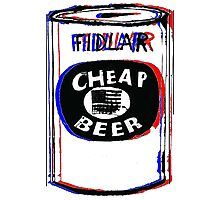 Fidlar Cheap Beer Photographic Print