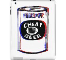 Fidlar Cheap Beer iPad Case/Skin