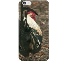 Bottoms up Bantam iPhone Case/Skin