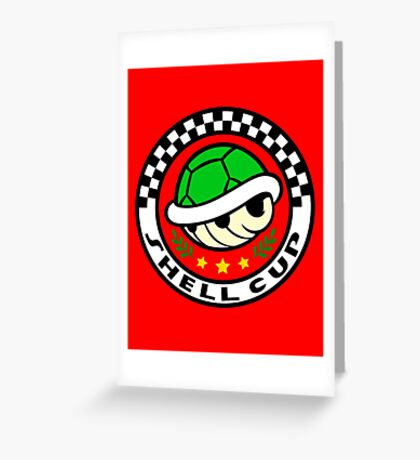 Shell Cup Greeting Card