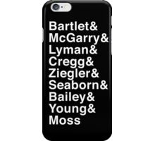 POTUS & STAFF iPhone Case/Skin