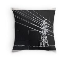 transmission 02 Throw Pillow