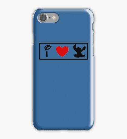 I Heart Stitch (Classic Logo) iPhone Case/Skin