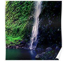 Hanakoa Falls Poster