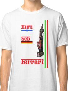 Ferrari 2015: Raikkonen, Vettel Classic T-Shirt
