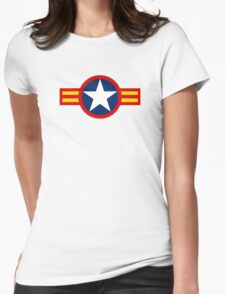 Roundel of the South Vietnam Air Force, 1955-1975 Womens Fitted T-Shirt