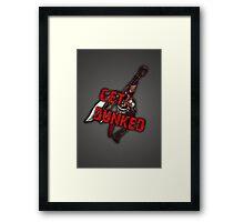 Dunk Darius Framed Print