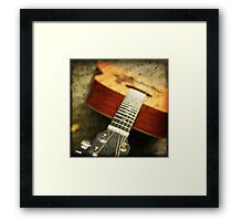 """Music is the art of thinking with sounds.""  Framed Print"