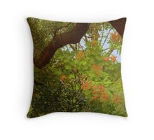 Trees In My Neighborhood Throw Pillow