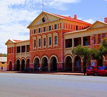 My first HDR - Coolgardie Court House by Daniel Fitzgerald