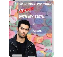 I'm Gonna Rip Your [Clothes] With My Teeth iPad Case/Skin