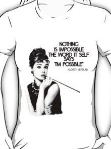 Audrey Hepburn T-Shirt