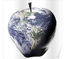 Big Apple, Earth, NYC, Healthy Planet, Nutrition, Fitness, IPhone Home Poster