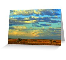 Outback Sky!    Greeting Card