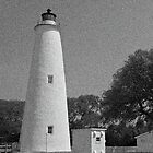 Ocracoke Lighthouse and Out Buildings by mrthink