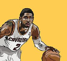Kyrie Irving by Johnaddyn