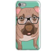Smart dog iPhone Case/Skin