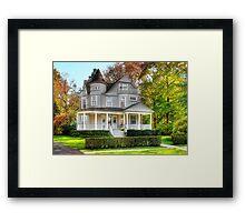 Victorian Dream House Framed Print