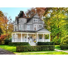 Victorian Dream House Photographic Print