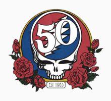 Grateful Dead Head Skull 50 years by Danko5