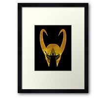 Evil God of Mischief Framed Print