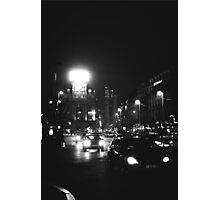 Brussels at Night  Photographic Print