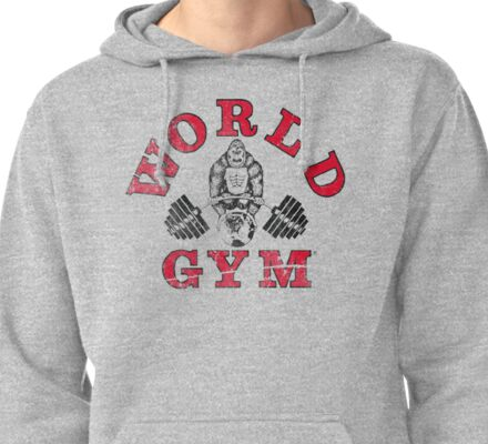 World Gym Pullover Hoodie