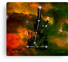 ES Birthsigns: The Tower Canvas Print