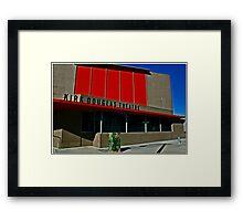 Kirk Douglas Theater Framed Print