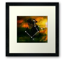 ES Birthsigns: The Shadow Framed Print