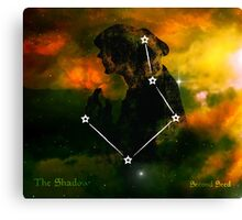 ES Birthsigns: The Shadow Canvas Print