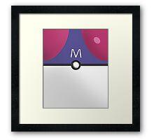 Master Ball! Framed Print