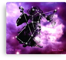 ES Birthsigns: The Mage Canvas Print