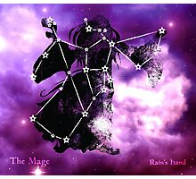 ES Birthsigns: The Mage Photographic Print