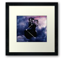 ES Birthsigns: The Lady Framed Print