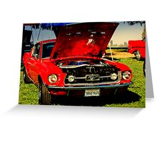 MUSTANG SALLY! Greeting Card