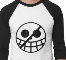 Donquixote Pirates Jolly Roger Men's Baseball ¾ T-Shirt