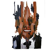 Nelson Mandela Abstract Painting Photographic Print