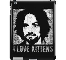 I Love Kittens iPad Case/Skin