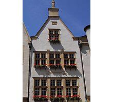 Windows in Bloom (Münster) Photographic Print