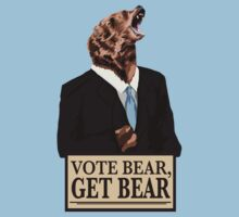 Vote Bear! (GET BEAR!) by LazerBears