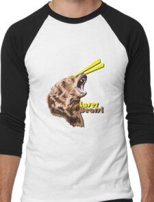 Laser Bears Men's Baseball ¾ T-Shirt